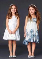 Простые летние платья для девочки 4 лет