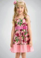 Нарядное платье-сарафан  для девочки