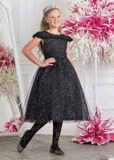 Нарядное платье для полной девочки пышное