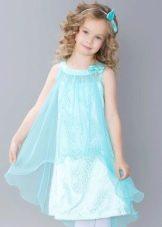 Нарядное платье для девочки мини