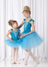 Нарядное платье-пачка для девочки