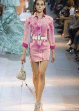 Платье-рубашка для девочки 15-16 лет
