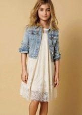 Кружевное платье для подростков