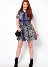 Платье для полной девочки подростка