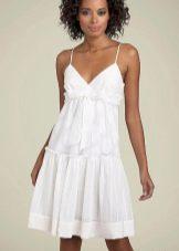 короткое бязевое платье