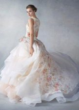 струящееся платье из органзы