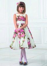 Цветное платье на выпускной 4 класс