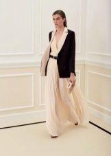 Пиджак к белому платью
