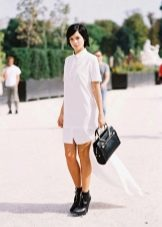 Обувь к платью-рубашке