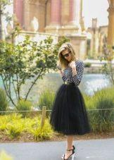 Пышная юбка солнце