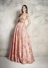 нежное платье из тафты