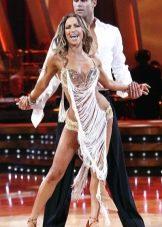 Платье с бахромой для танцев