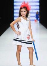 платье для девочки 5 лет в морском стиле