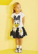 Летнее платье для девочки 5 лет с героями
