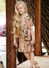 Весеннее платье для девочки 5 лет на каждый день