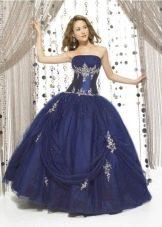 Шикарное бальное платье для девочки
