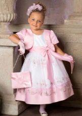 Болеро и сумка к шикарному  пышному платью для девочки