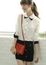 be0576e0645 Для девочек среднего школьного возраста можно порекомендовать обратить свое  внимание на классические рубашки пастельной цветовой гаммы.