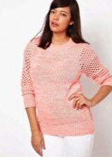 Женские Пуловеры Ажурные Доставка