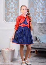 Болеро сшито с платьем