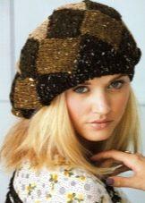 вязаные шапки 151 фото для женщин 50 лет модные модели осень