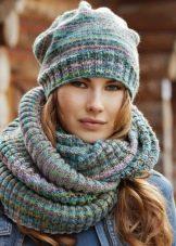6255f8950f58 Вязаные шарфы (105 фото): модные тенденции 105, красивые модели ...