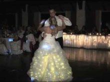 свадебное платье со светодиодами - реальное фото со свадьбы