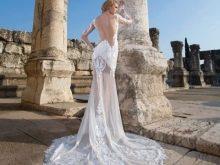 Свадебное платье сексуальное с прозрачной юбкой