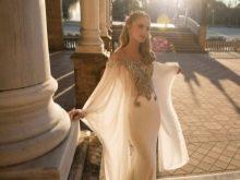Сексуальное свадебное платье из тонкой прозрачной ткани