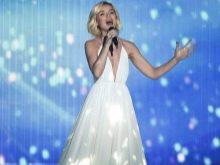 Гагарина - Евровидение 2015 - платье со светодиодами