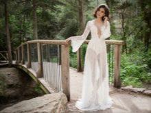 Откровенное свадебное платье от Henika