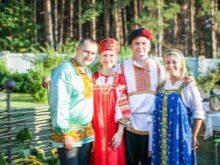 Свадебное торжество в стиле а-ля рус