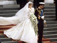 Принцесса Диана свадебное платье
