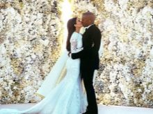 Платье свадебное Ким Кардашьян
