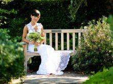 Вязанное свадебное платье крючком Чи Крнеты