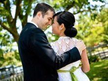 Вязанное свадебное платье крючком корреянки