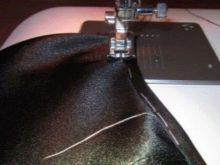 Обработка горловины бейкой