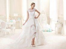 Свадебное платье от Nicole Fashion Group хай-лоу