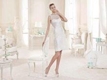 Свадебное платье от Nicole Fashion Group короткое