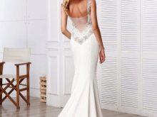 Свадебное платье с полуобнаженной српиной