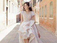 короткое свадебное платье от Тулипии