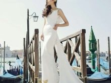 Свадебное платье от Tulipia с золотой вышивкой