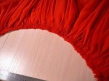 Стачивание юбки с подъюбником