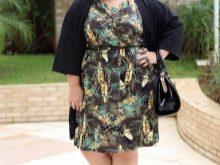 Модные платья для полных невысоких женщин