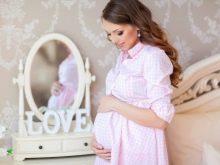 Фотосессия беременной в фотостудии