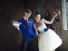 Свадебный образ в стиле 60-х