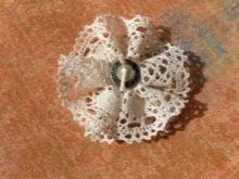 Кружевная середина цветка
