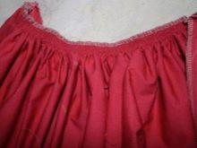 Стачивание юбки и лифа выпускного платья