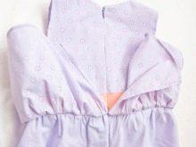 Вид платья с 1-й оборкой