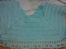 Вязание юбки на платье для девочки до года